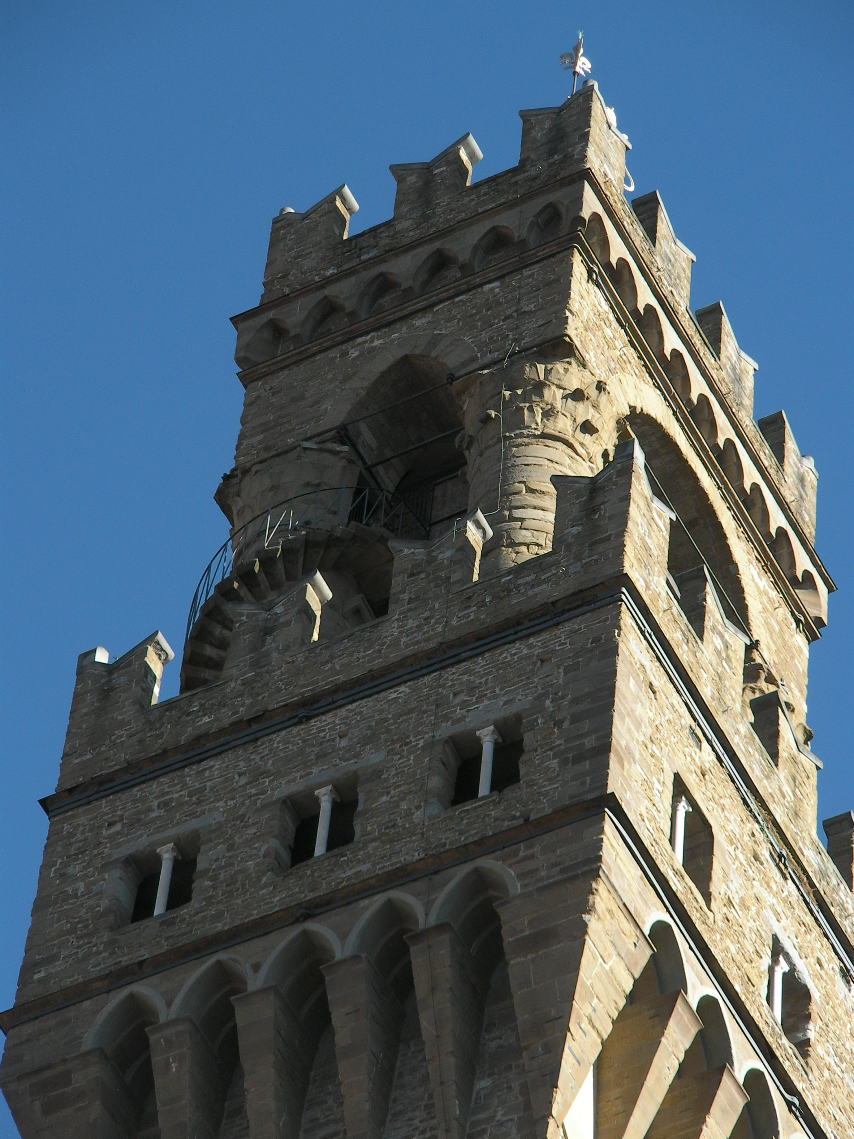 Italy Florence Pallazo Vecchio Detail